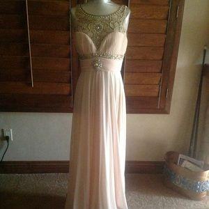 NWT chiffon gown